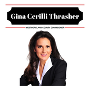 Westmoreland County Commissioner, Gina Cerilli Thrasher oversees a variety of county departments to ensure that they are operating effectively and within their budgets.