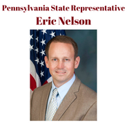 Pennsylvania State Representative, Eric Nelson represents the 57th Legislative District in the Pennsylvania House of Representatives, serving parts of Westmoreland County.