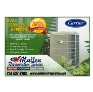 Mullen Refrigeration Service specializes in Heating, Cooling and Air Quality. MRS wants to help make your home healthy and comfortable, your business's heating and cooling reliable and efficient.