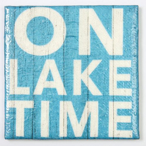 On Lake Time:  Set of 4