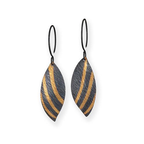 Long Leaf Keumboo Earrings