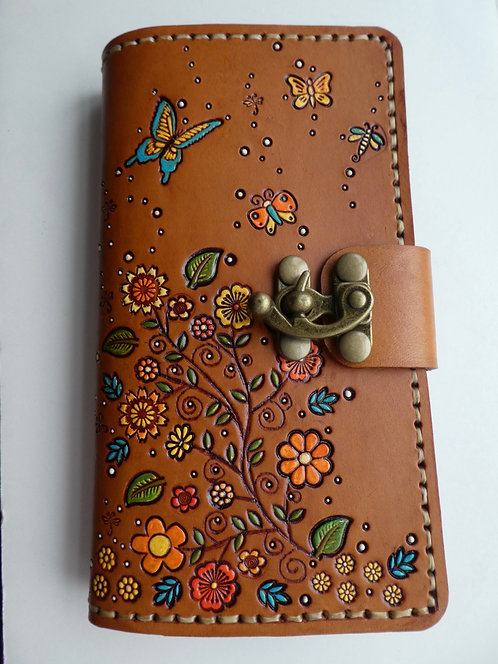 Butterfly / Floral Journal