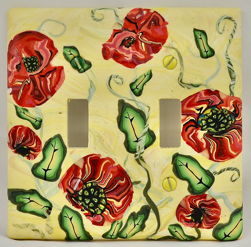 Poppies Switchplate