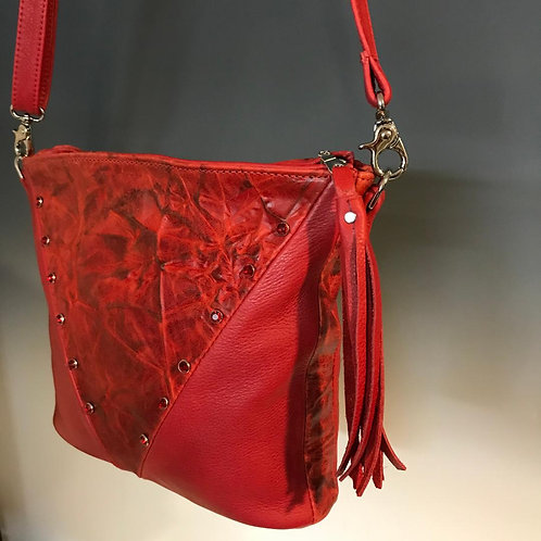 Embossed in Red