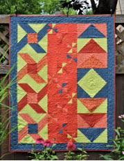 Triangle Square Quilt