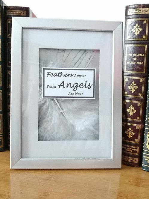 Beautiful & Uplifting! Decorative Angel Shadowbox