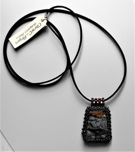 Picture Jasper Choker Necklace