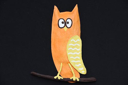 Small Owl - Orange