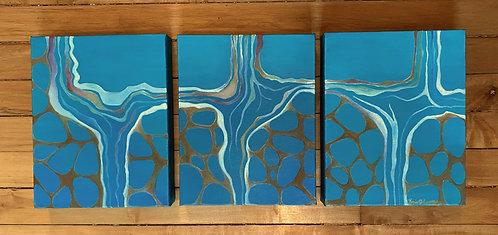 Triptych- Unknown Land