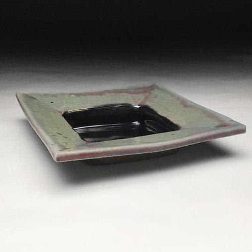 Copper Glazed Square Plate