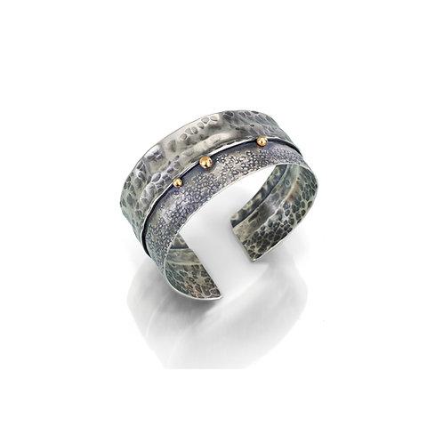 Ridgeline Cuff Bracelet