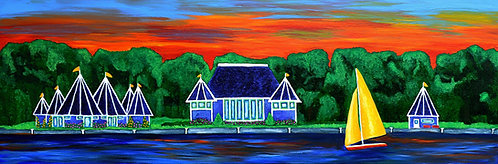 Sunset at Lake Harriet