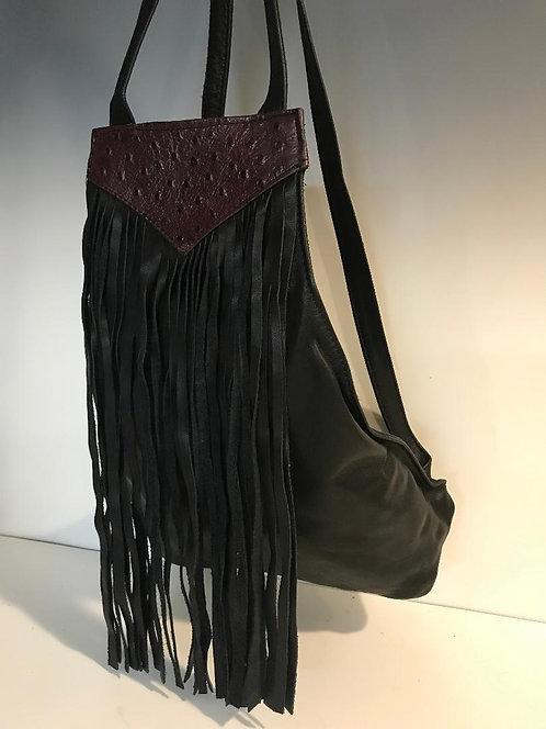 Backpack with Fringe