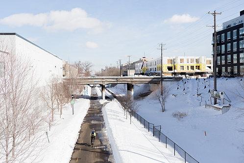 Midtown Greenway at Harriet