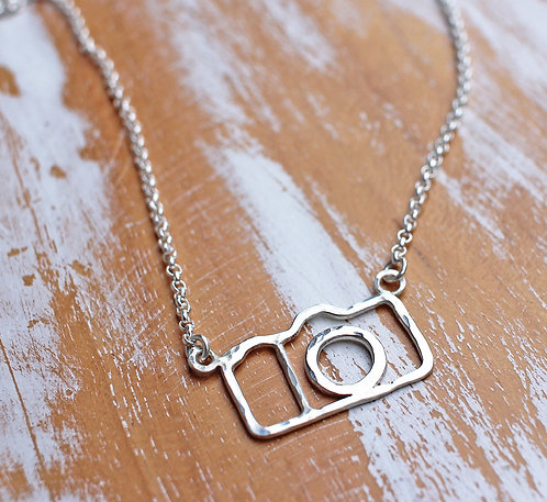Click Click Camera Necklace
