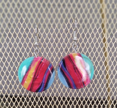 Rainbow Sunset Earrings