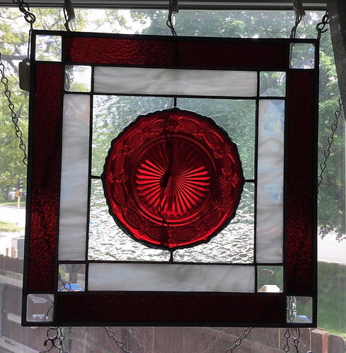 Red Plate Panel