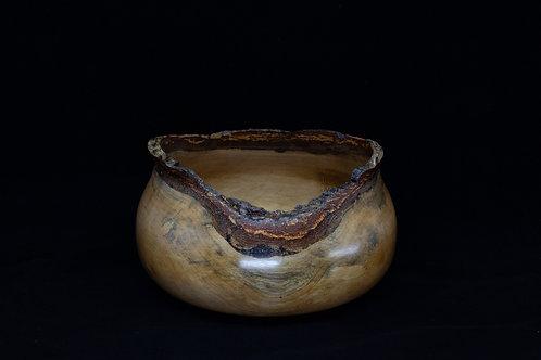 Marvelous Live Edge Cup-shaped Cedar Bowl