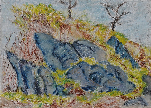 Beach Rocks Troncones