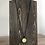 Thumbnail: Bumblebee Alcohol Ink Pendant Necklace