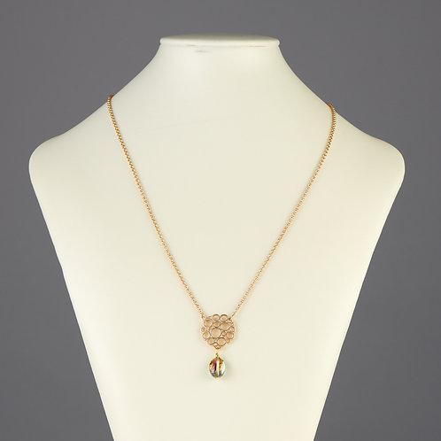 Gold Bubbles Necklace
