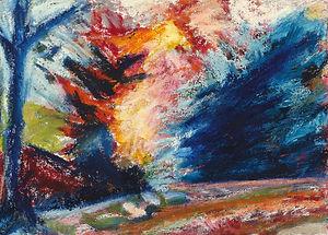 5. Trees, Lake Harriet Blue- Giclee Print.jpeg