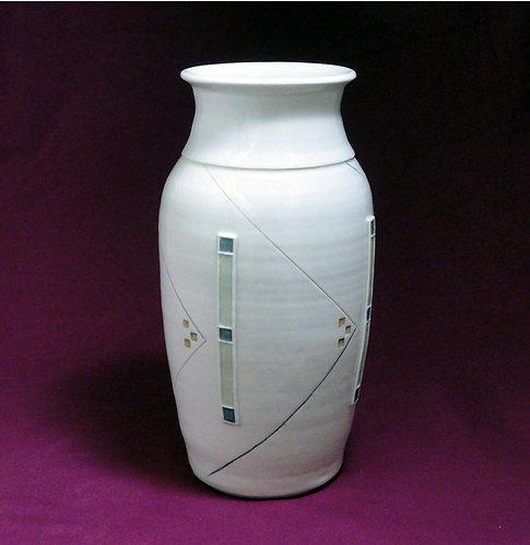 3 Square Vertical Vase