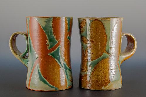 Orange Leaf Coffee Mug