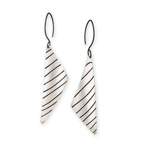 Asymmetrical Earrings - Latitude Series