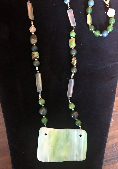 Green Glass and Jade