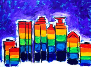 Mpls Pride Skyline
