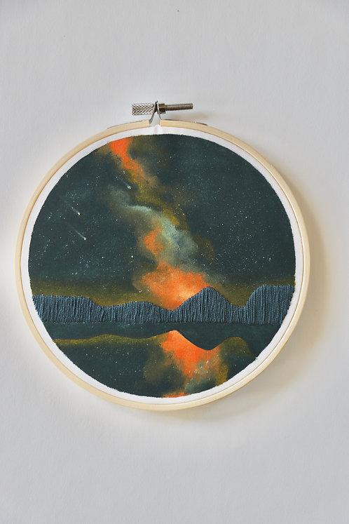 Fiery Night Sky