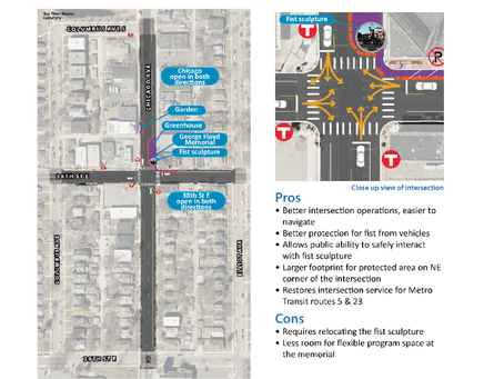 Updates from the City of Minneapolis: 38th & Chicago and Community Safety During The Trial Of Derek
