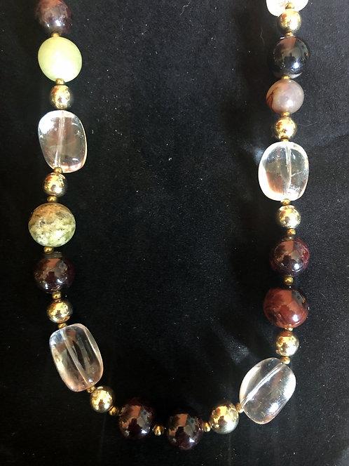 Crystal and Mixed Jade