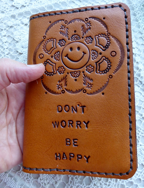 Don't Worry Be Happy Passport Cover