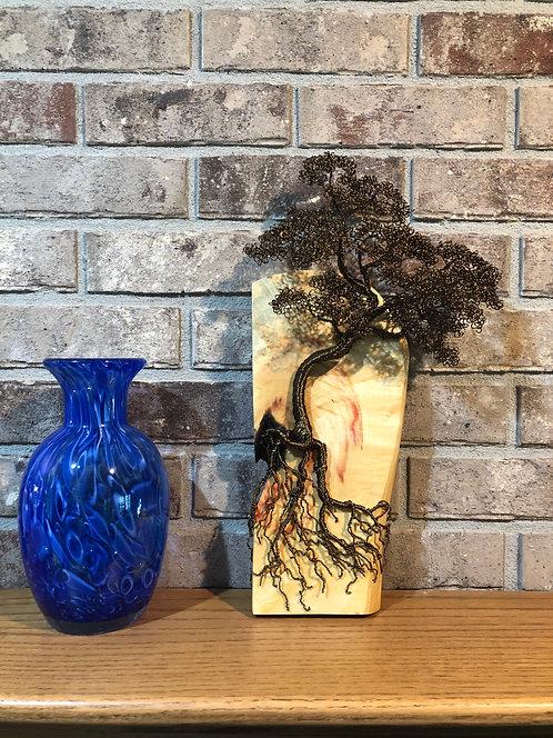 Bronze Bonsai on Box Elder