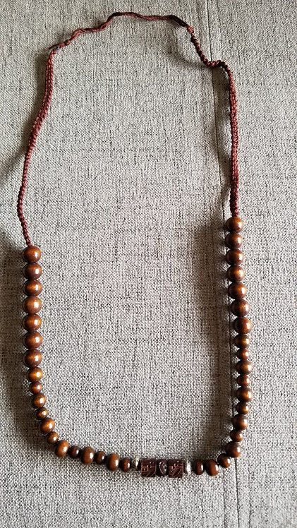 Earth Bound Beads Necklace
