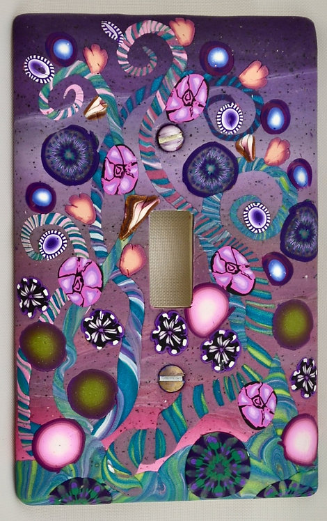 Violet Garden Single Switchplate