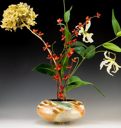 Porcelain Slip Ikebana Vase