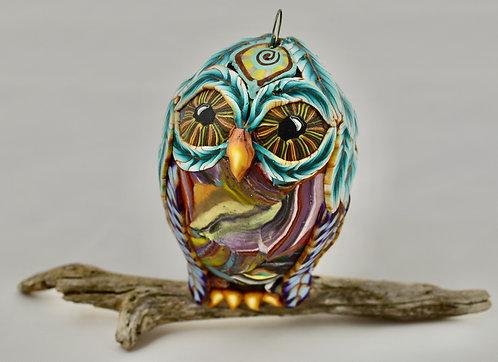 Modern Art Owl