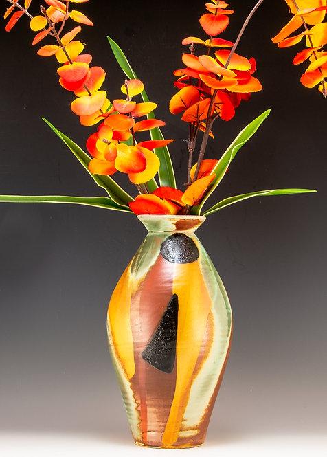 Black Moon Flower Vase