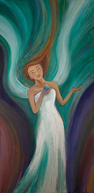 Grace/Archival Giclee on Canvas