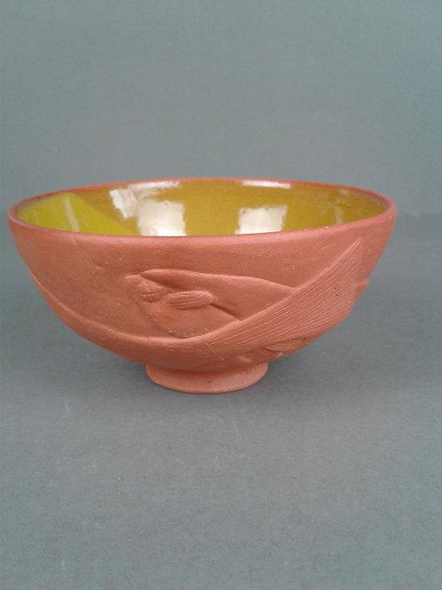 No. 18 burnished Dead Fish Bowl