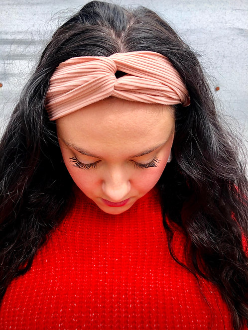 Rossette Knotted Headband