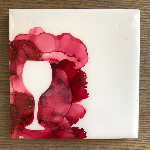 Red Wine Coaster