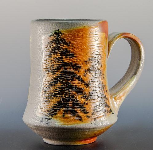 Snowy Evergreen Mug