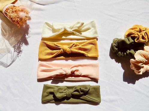 Ribbed Headband set
