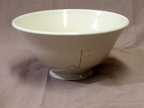 2 Square Line Out Bowl