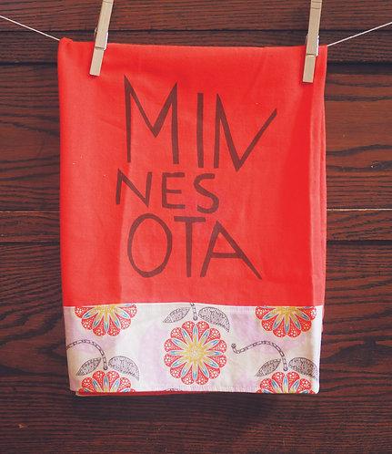 Tea Towel Minnesota Love