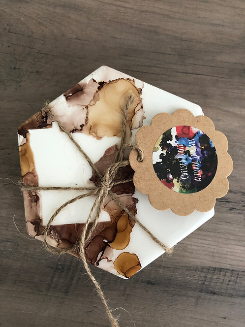 Hexagon Minnesota Brown Coasters